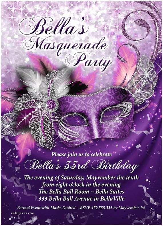 Masquerade Quinceanera Invitations Best 25 Masquerade Party Invitations Ideas On Pinterest