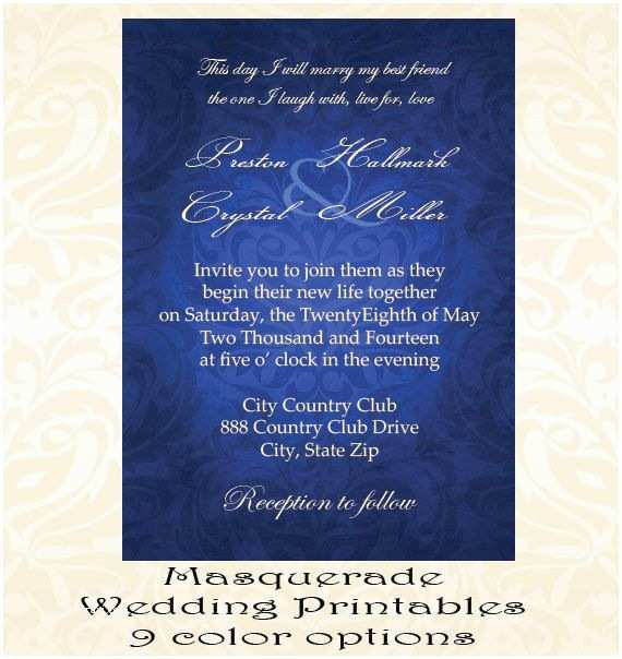 Masquerade Wedding Invitations 1000 Ideas About Masquerade Wedding Invitations On