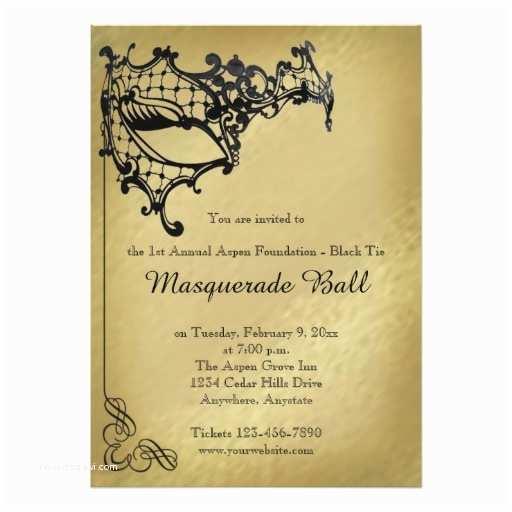 Masquerade Wedding Invitations Filigree Masquerade Mardi Gras Ball Invitation