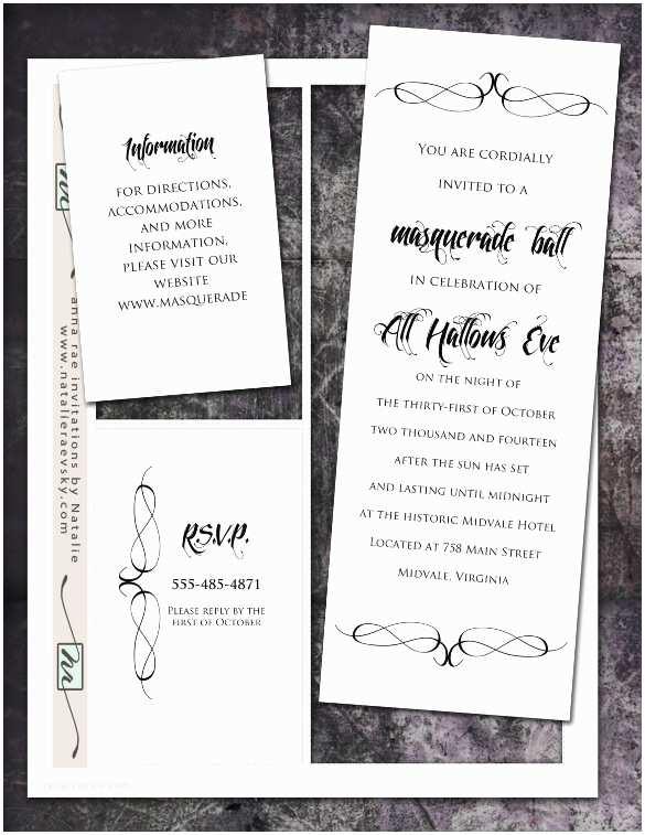 Masquerade Wedding Invitations Masquerade Invitation Template – 24 Free Psd Vector Eps