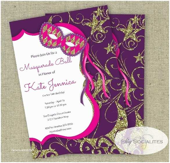 Masquerade Wedding Invitations Masquerade Wedding Invitations Template