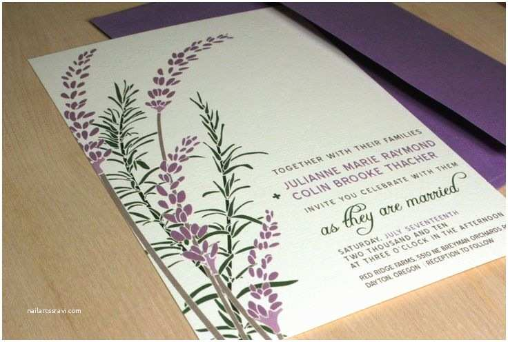 Mauve Wedding Invitations 127 Best Lavender Cards For Weddings Images On
