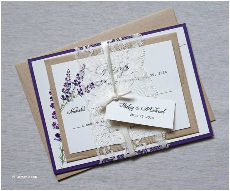 Mauve Wedding Invitations 2491 Best Lavender Wedding Invitations Images On