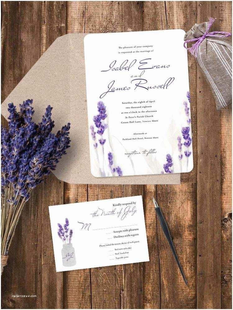 Mauve Wedding Invitations Luxury Pearl Shimmer Lavender Wedding Invitation