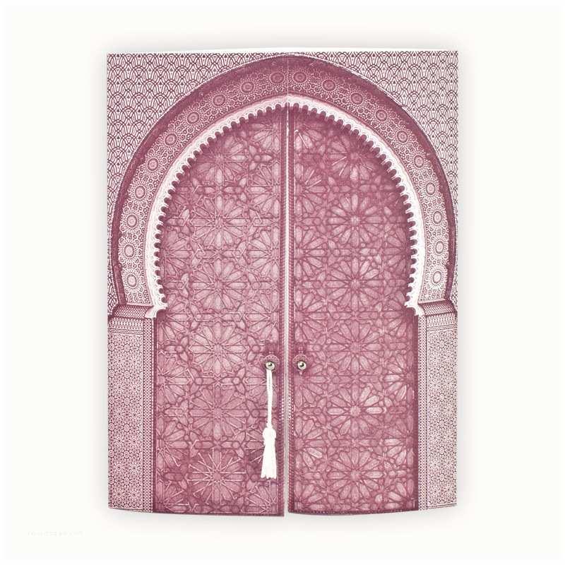 Mauve Wedding Invitations Muslim Wedding Invitation Mauve Gate To The Orient