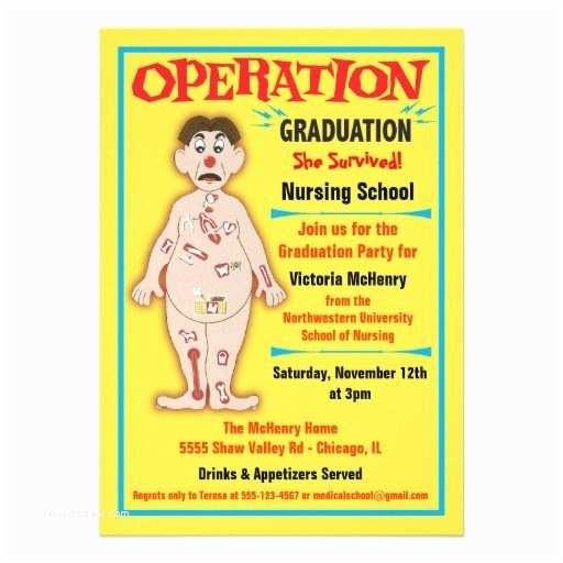 Medical School Graduation Invitations Medical Graduation and Nursing On Pinterest