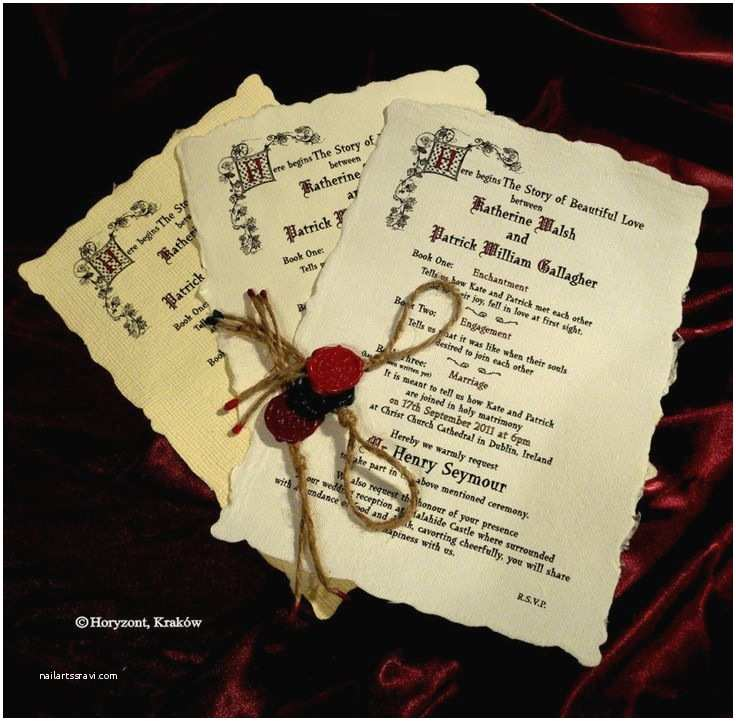 Medieval Wedding Invitations 17 Best Images About Me Val Wedding Invites On Pinterest