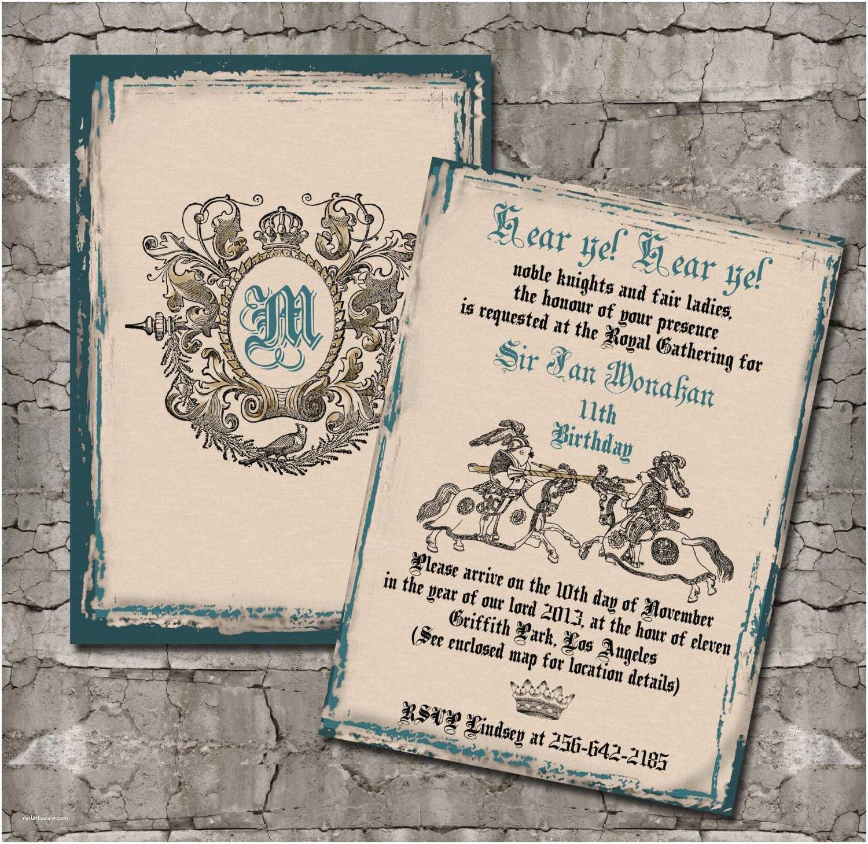 medieval wedding invitations - HD1500×1459