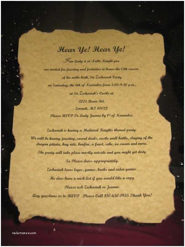 Medieval Wedding Invitations Wording Me Val Invitation Ideas