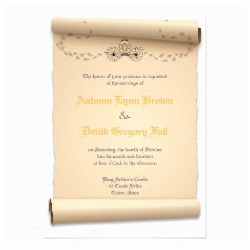 Medieval Wedding Invitations Wording Me Val Wedding Invitations Pumpkin Carriage