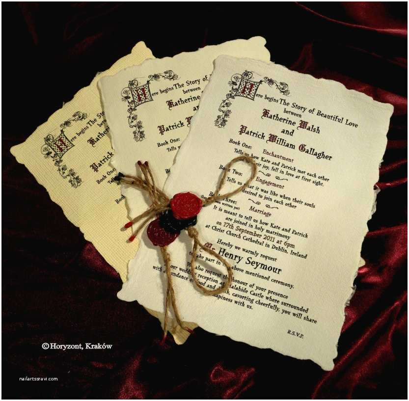 Medieval Wedding Invitations Wording the northern Bride Wedding Invitations Part 2 Luxurious