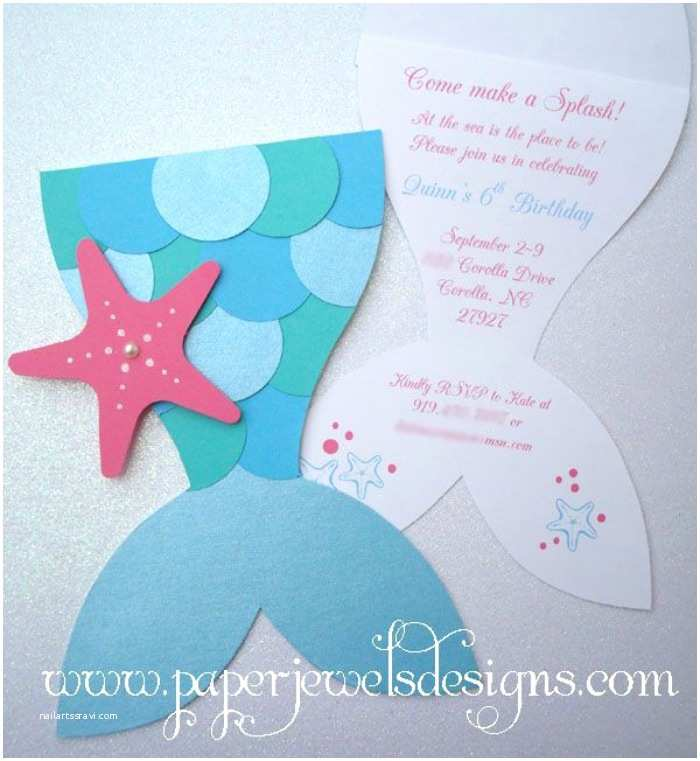 Mermaid Party Invitations 21 Marvelous Mermaid Party Ideas for Kids