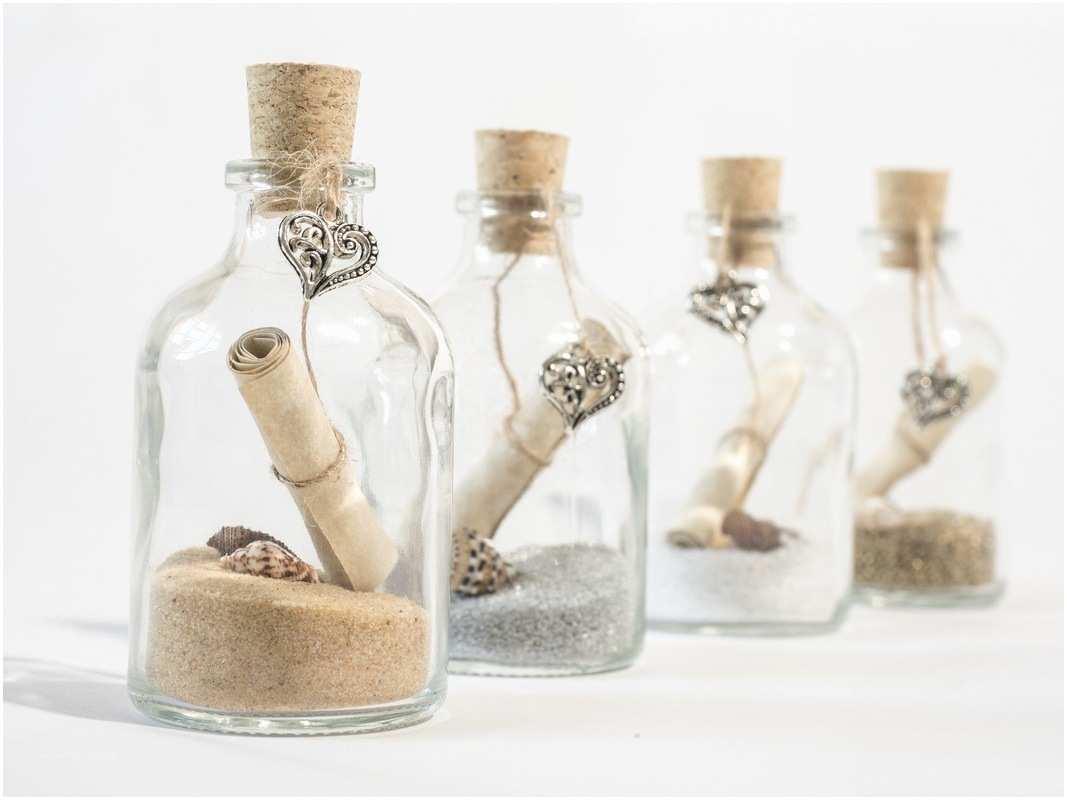 Message In A Bottle Wedding Invitations Invite In A Bottle Handmade Message In A Bottle