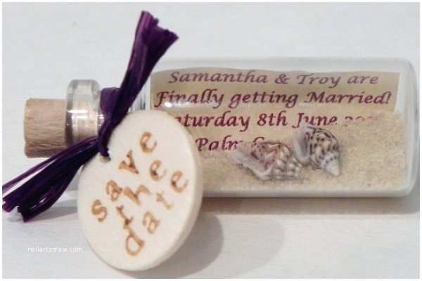 Message In A Bottle Wedding Invitations Message In A Bottle Wedding Invitation