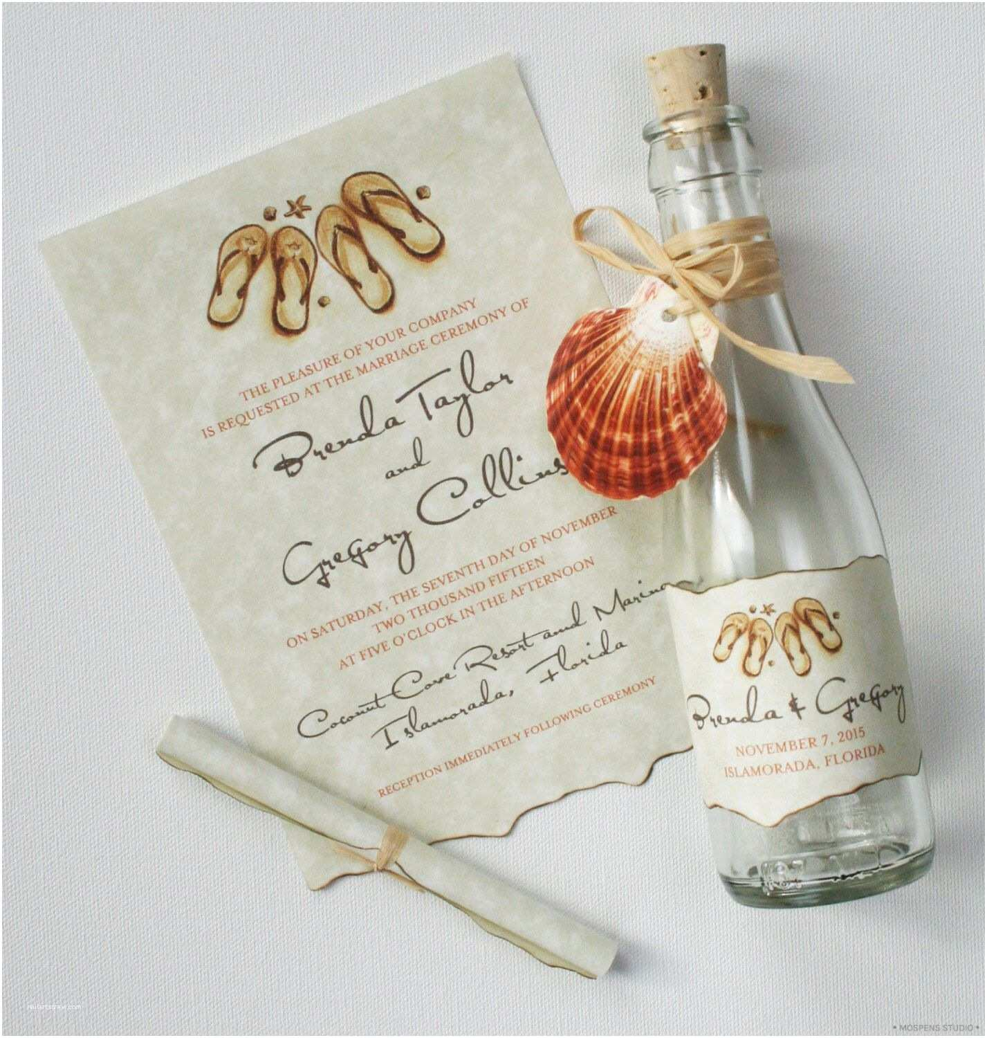 Message In A Bottle Wedding Invitations Message In A Bottle Wedding Invitations Bottle