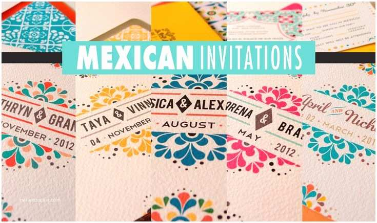 Mexican Inspired Wedding Invitations Pin by Ruthie On Mexican Inspired