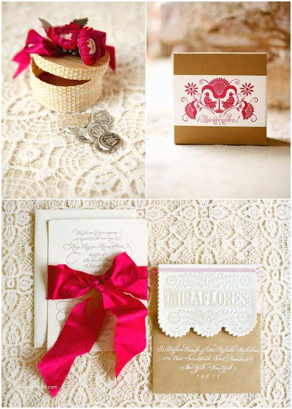 Mexican Inspired Wedding Invitations the Wedding Decorator A Gorgeous Spanish Style Wedding