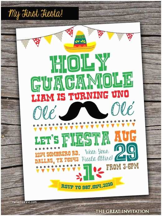 Mexican Party Invitations Best 25 Fiesta Invitations Ideas On Pinterest