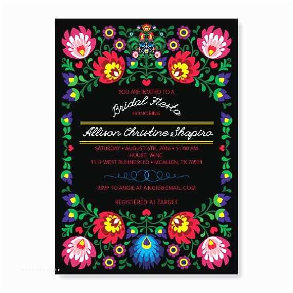 Mexican Party Invitations Fiesta Invitation Cinco De Mayo Party Mexican Invitation