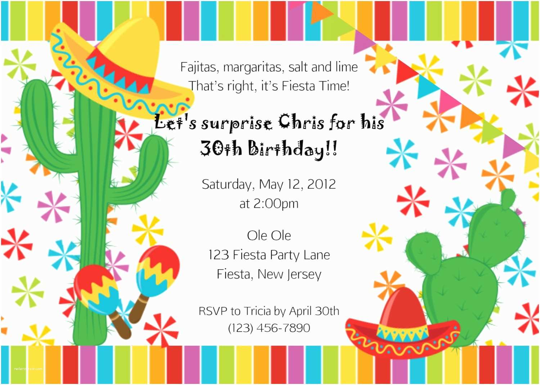 Mexican Party Invitations Mexican Party Invitation Cloudinvitation
