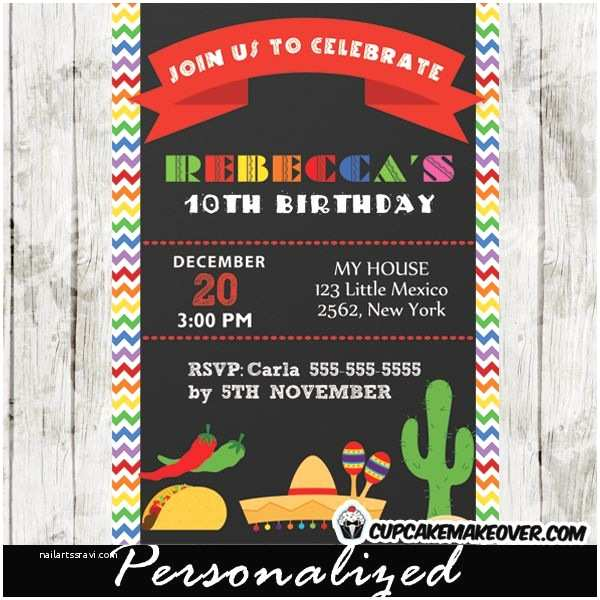Mexican Themed  Invitations 10 Best Images About Mexican Fiesta Themed