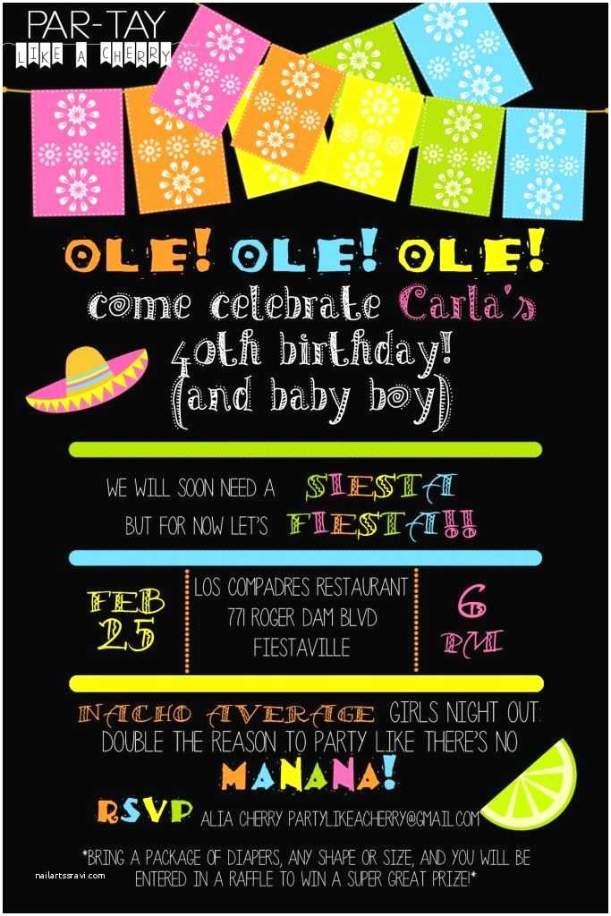 Mexican Themed Party S Free Editable Fiesta