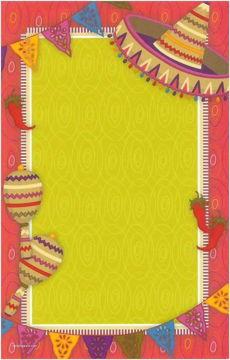 Mexican Themed Party Invitations Hot  Invitation Cards And Free Printable