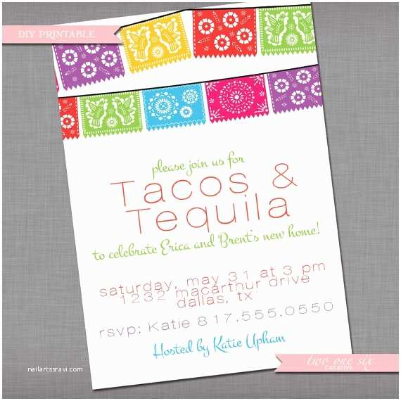 Mexican Themed Wedding Invitations Fiesta Mexican Spanish Theme