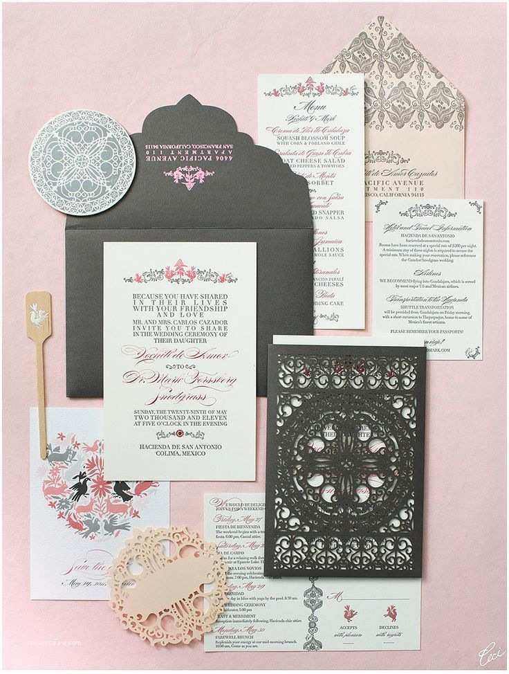 Mexican Wedding Invitations 17 Best Images About Wedding Invitations On Pinterest