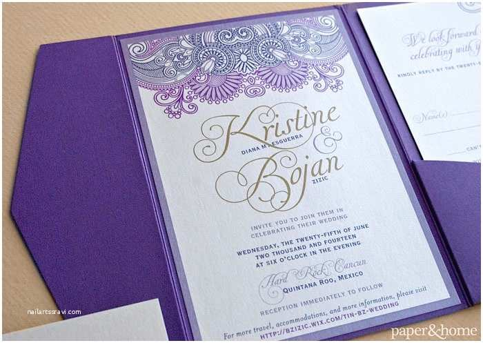 Mexican Wedding Invitations Mexican Wedding Invitations Kristine and Bojan Paper