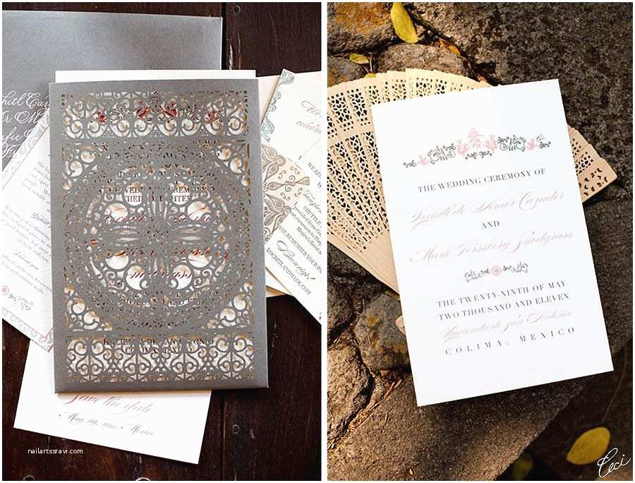 Mexican Wedding Invitations Our Muse Elegant Mexican Wedding Be Inspired by