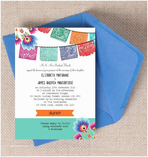 Mexican Wedding Invitations top 10 Mexican themed Destination Wedding Invitations