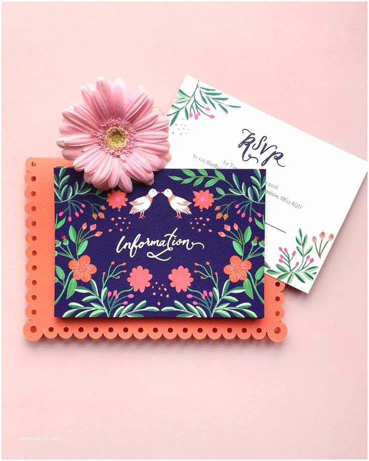 Mexican Wedding Invitations top 25 Best Colorful Wedding Invitations Ideas On