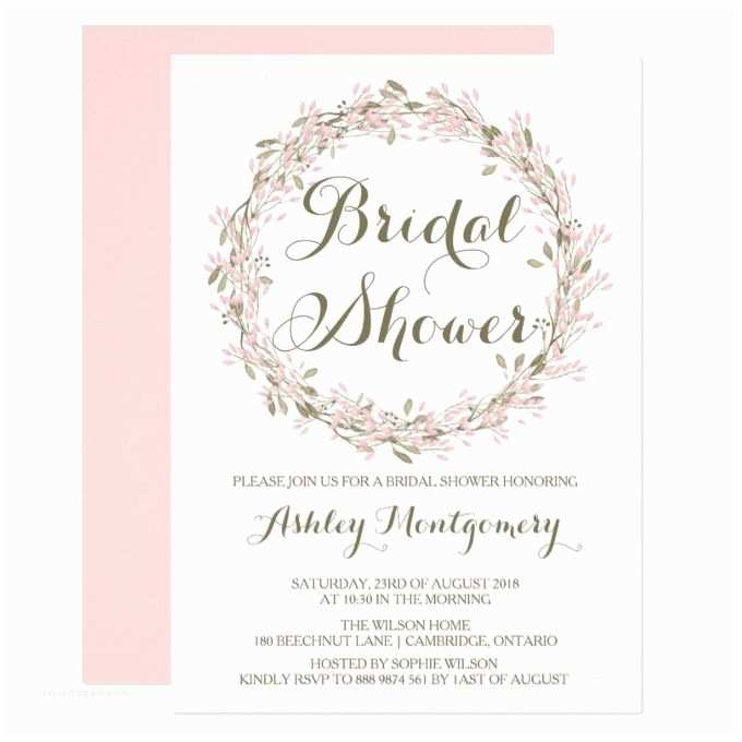 Michaels Baby Shower Invitations Awesome Bridal Shower Invitations at Michaels Ideas
