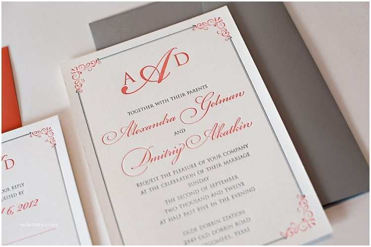 Michaels Printable Wedding Invitations Templates Printable Wedding Invitation Kits with Coral and