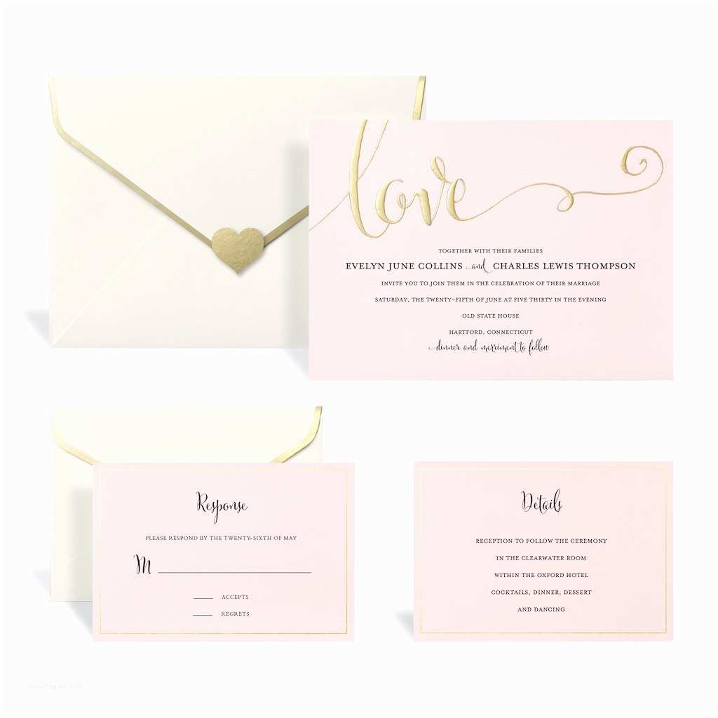 Michaels Printable Wedding Invitations Unique Wedding Invitation Kit