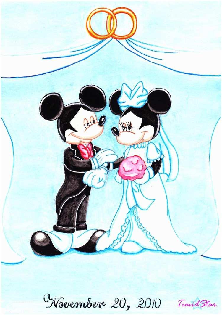 Mickey and Minnie Wedding Invitation Mickey and Minnie Mouse Wedding Invitations Mickey Mouse