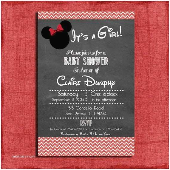 Mickey Mouse Baby Shower Invitations Printable top 25 Ideas About Minnie Mouse Invites On Pinterest