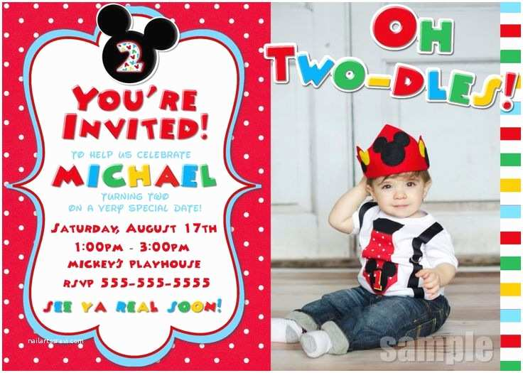 Mickey Mouse Birthday Invitation Best 25 Mickey Clubhouse Ideas On Pinterest