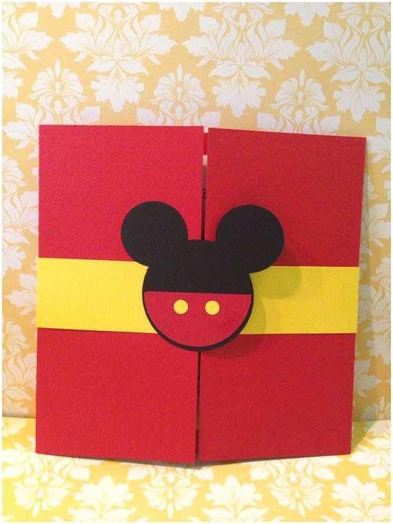 Mickey Mouse Birthday Invitation Best 25 Mickey Invitations Ideas On Pinterest