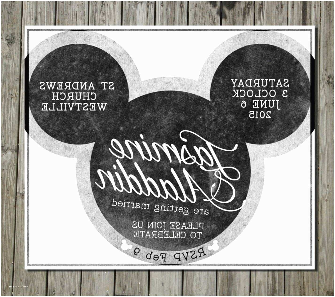 Mickey Mouse Wedding Invitations Mickey Mouse Wedding Invitation Response Picture Ideas