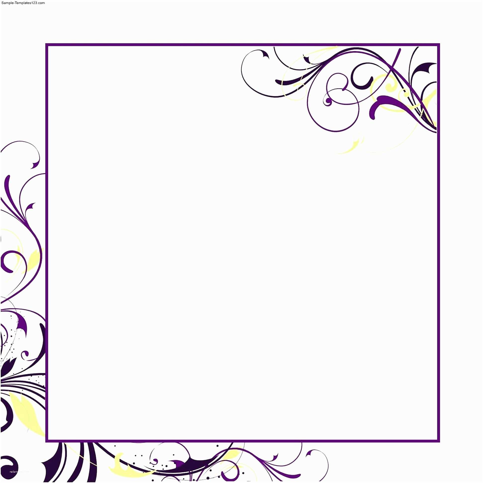Microsoft Word Wedding Invitation Templates formal Invitation Template Microsoft Word Gallery