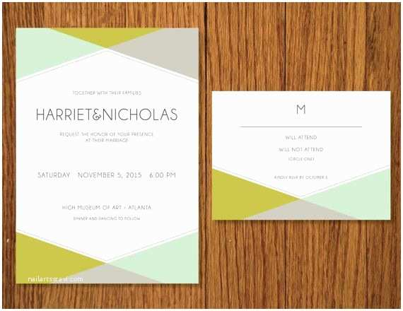 Mid Century Wedding Invitations 1000 Ideas About Wedding Templates On Pinterest