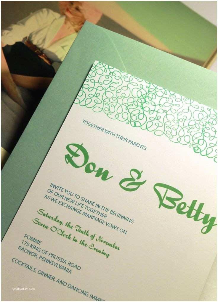 Mid Century Wedding Invitations 1000 Images About Mid Century Modern Wedding On Pinterest