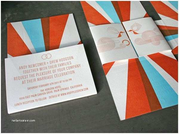 Mid Century Wedding Invitations 124 Best Images About Mid Century Modern Wedding On Pinterest