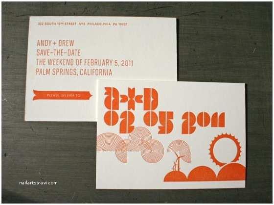 Mid Century Wedding Invitations 15 Wedding Invitations with Unique Typography Creative