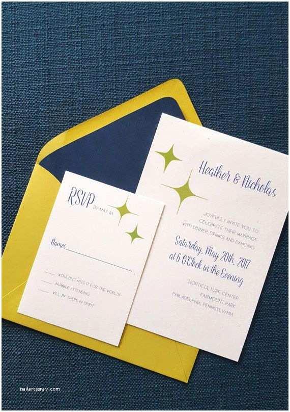 Mid Century Wedding Invitations Best 25 Retro Wedding Stationery Ideas On Pinterest
