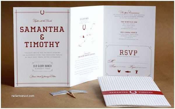Mid Century Wedding Invitations Mid Century Modern Wedding Invitations by Bow & Arrow