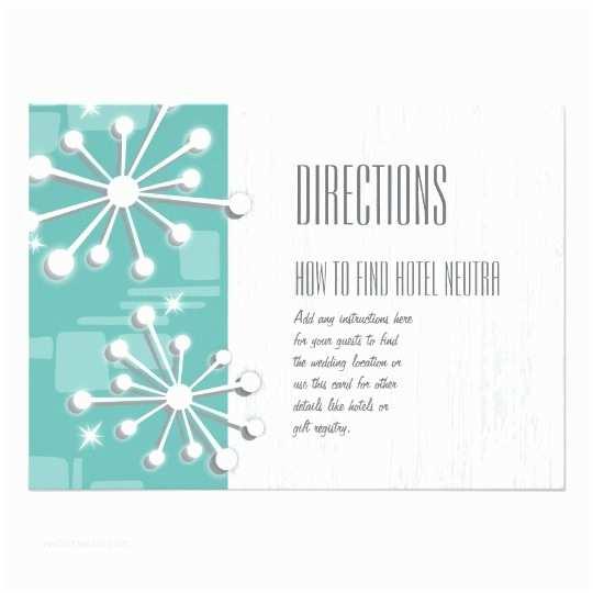 Mid Century Wedding Invitations Mid Century Modern Wedding Invitations Enclosures Card