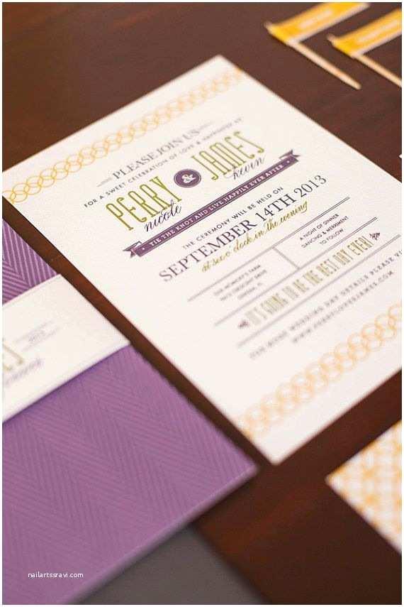 "Mid Century Wedding Invitations Wedding Invitation Set Mid Century Modern ""timeless"